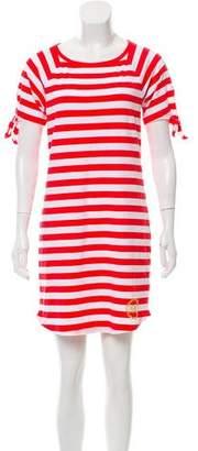MICHAEL Michael Kors Michael Kors Striped Knee-Length Dress