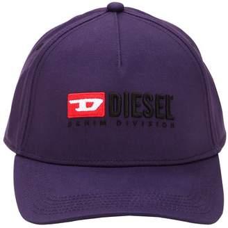 Diesel 90's Logo Twill Baseball Hat