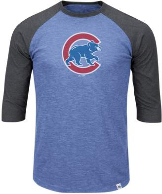Majestic Big & Tall Chicago Cubs Baseball Tee
