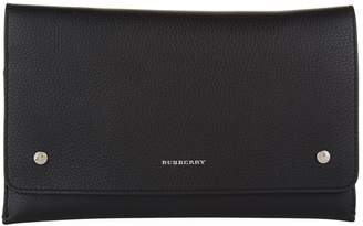 Burberry Leather Wristlet Clutch