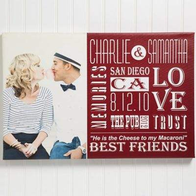 Our Life Together Photo 16-Inch x 24-Inch Canvas Print