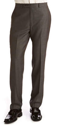Calvin Klein Charcoal Modern Fit Wool Suit Separate Pants