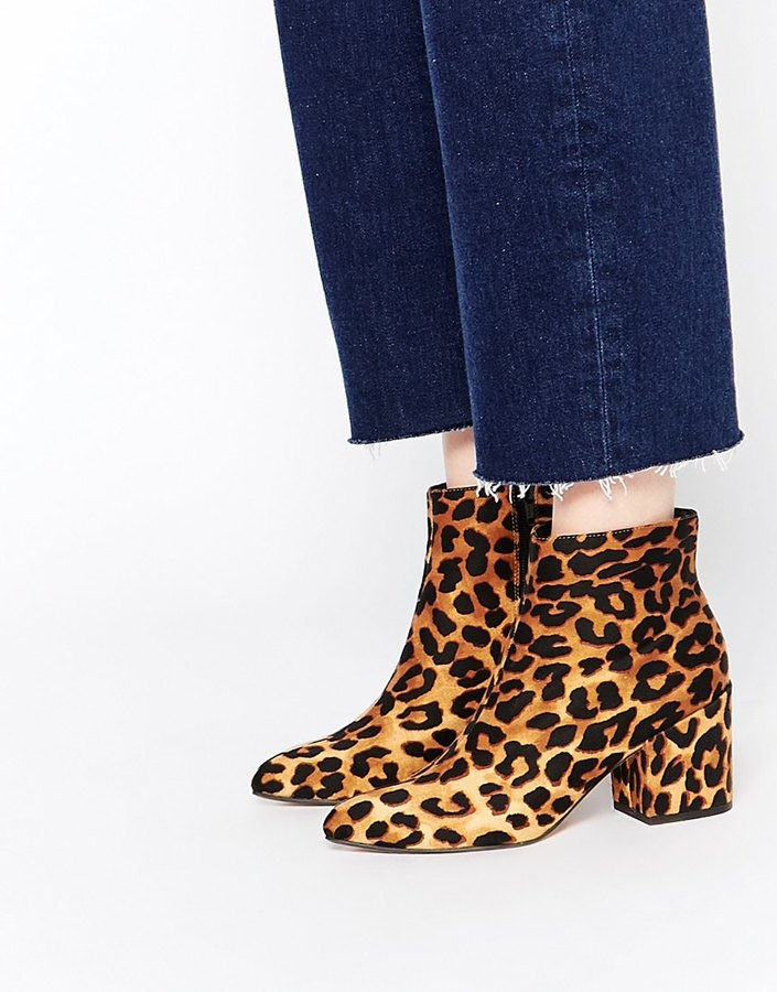 ASOS COLLECTION ASOS RADIO STAR Pointed Ankle Boots