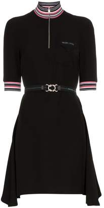 Prada zipped short sleeve sport dress