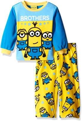 Star Wars Despicable Me Boys' 2-Piece Fleece Pajama Set with Minion