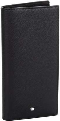 Montblanc Bilfold Grain Leather Long Wallet