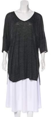 Eileen Fisher Short Sleeve Scoop Neck Top