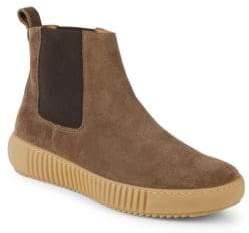 Paul Stuart Gum Sole Suede Chelsea Boots