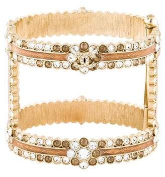 Crystal Open Hinged Cuff