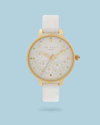 dcb2895754bfc Ted Baker KANITA Floral dial watch