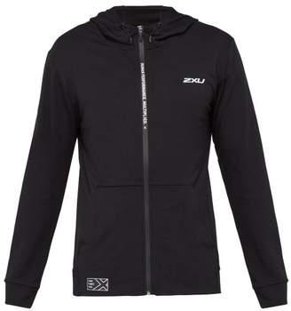 2XU Urban Hooded Cotton Sweatshirt - Mens - Black