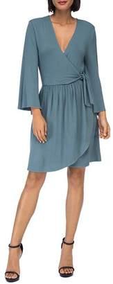 Bobeau B Collection by Forrest Faux-Wrap Dress