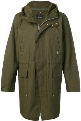 Paul Smith hooded parka coat