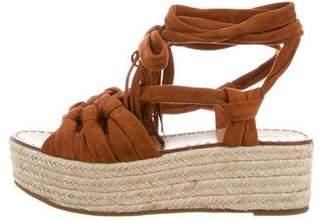 Sigerson Morrison Platform Espadrille Sandals w/ Tags