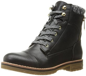 Tommy Hilfiger Women's Omar2 Combat Boot $129 thestylecure.com