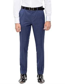 Sand Fl Fr 100% Virgin Wool Suit Trouser S192