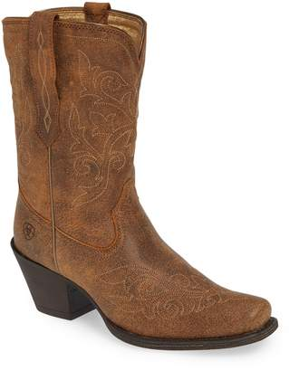 Ariat Round Up Rylan Square Toe Bootie