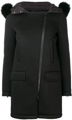 Herno hooded mid-length coat