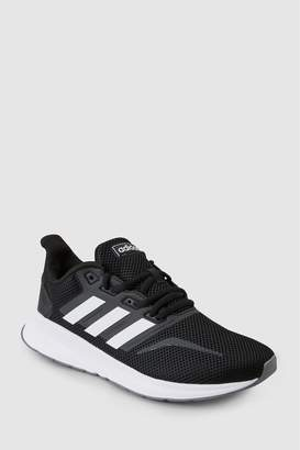 Next Womens adidas Black/White Run Falcon
