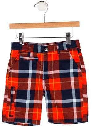 Appaman Fine Tailoring Boys' Plaid Bermuda Shorts w/ Tags