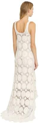 Mes Demoiselles Cotton Crochet Long Dress