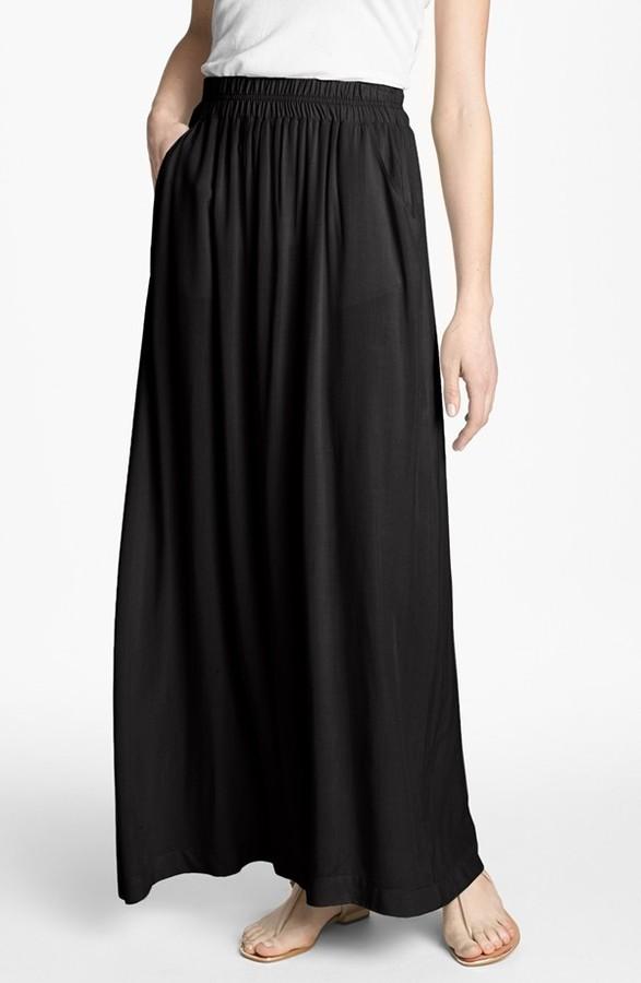 Splendid Voile Maxi Skirt