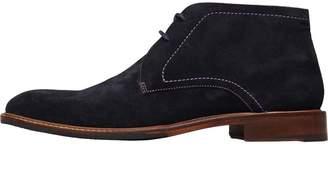 Ted Baker Mens Torsdi 4 Suede Boots Dark Blue