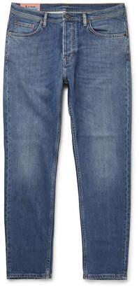 Acne Studios River Slim-Fit Tapered Denim Jeans