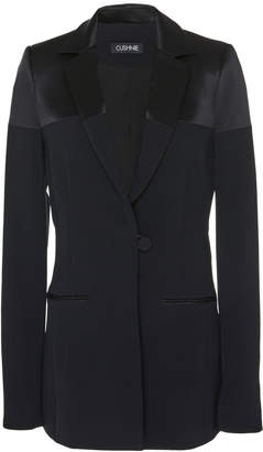 Cushnie Single-breasted Cady Jacket