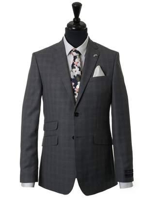 Ted Baker Formals Ariste J Sterling Check Suit Jacket