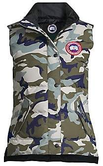 Canada Goose Women's Camo Puffer Vest