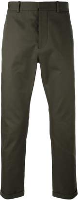 Marni cropped turn-up trousers