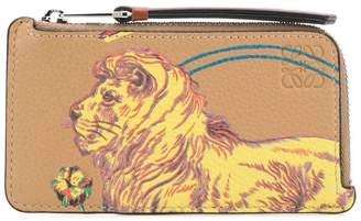 Loewe Tiger print cardholder