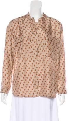 Humanoid Silk Button-Up Top