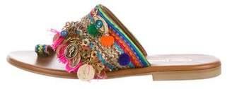 Jaipur Elina Linardaki Embellished Sandals