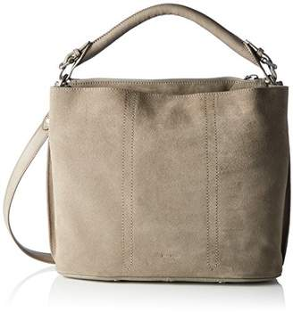 Marc O'Polo 70117431201300 Eight, Women's Shoulder Bag, Grau (Light Grey), 14x29x37 cm (B x H T)