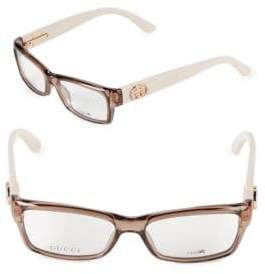 Gucci 51MM Square Optical Glasses