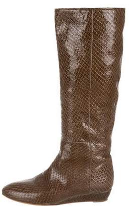 Loeffler Randall Round-Toe Knee-High Boots