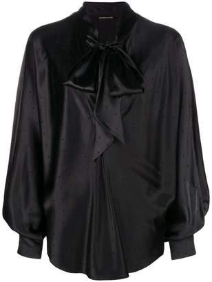 Alexandre Vauthier oversized blouse