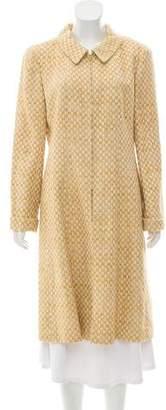 Chanel Tweed Long Coat w/ Tags
