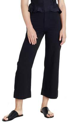 Apiece Apart Merida Wide Leg Crop Pant