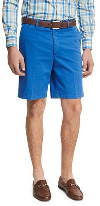 Peter Millar Island Printed Shorts, Blue Pattern $95 thestylecure.com
