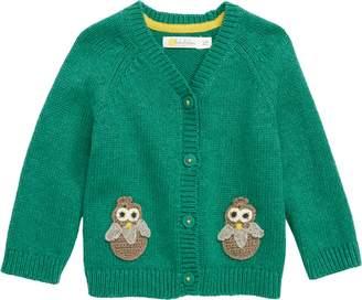Boden Mini Owl Cardigan Sweater