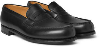 J.M. Weston 180 The Moccasin Leather Penny Loafers