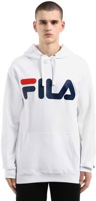Classic Logo Hooded Cotton Sweatshirt
