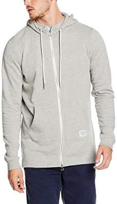 Tom Tailor Men's Extra Long Hoodjacket Sweatshirt,Small