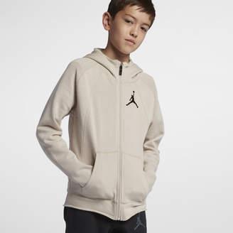Nike Jordan Sportswear Wings LiteBig Kids' (Boys') Full-Zip Hoodie