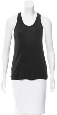 Alexander Wang T by Alexander Wang Sleeveless Racerback Top