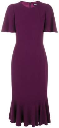 Dolce & Gabbana peplum hem cady dress
