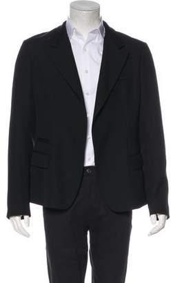 Haider Ackermann Virgin Wool One-Button Blazer